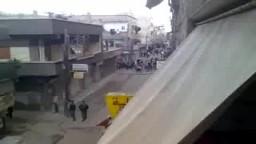 اطلاق النار على المتظاهرين بمدينة الحجر الأسود 2