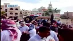 سوريا- حماه -  مظاهرات الجمعة العظيمة 22-4