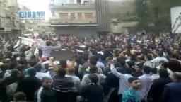سوريا- حمص - تشييع أحد شهداء الجمعة العظيمة 22-4