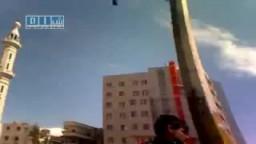 سوريا : برزه البلد   إطلاق نار حي على الأهالي