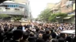 سوريا _حمص   زفاف الشهيد فواز الحراكي الذى قتلته يد الأمن السورية