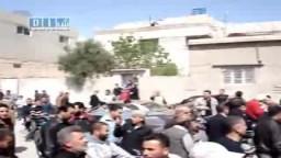 سوريا- حماه - مدينة السلمية بمظاهرة الجمعة العظيمة 22-4