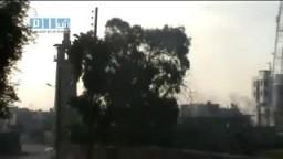 سوريا- درعا - إطلاق النار بمحيط الجامع العمري 25-4