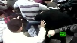 سوريا: اسقاط وحرق صورة بشار الاسد