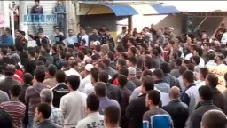 سوريا- بانياس - مظاهرة التضامن مع المدن المحاصرة 26-4 ج1