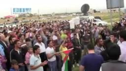 شام - الأردن- الرمثا مظاهرة مناصرة أهل درعا 27-4 ج2