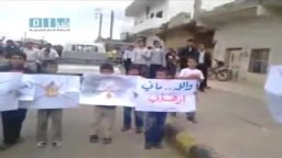 سوريا -- مظاهرات جمعة الغضب  في حوران 29/4