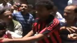 احدى شهداء اليوم 30 4 2011 في عدن _ اليمن بمنطقة المنصورة