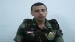 مجند سورى يعترف بان النظام السورى اجبره باطلاق النار على المتظاهرين