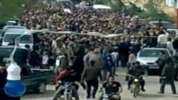 جنازة الشهيد - حسين معتز عيسى _مضايا_الزبداني