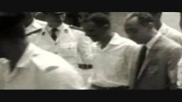 مقطع نادر للشهيد سيد قطب قبل اعدامه