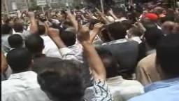 وقفة أحتجاجية لنصرة غزة أ محسن راضى
