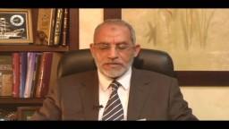 كلمة المرشد العام الدكتور بديع بقرار الانسحاب من جولة الإعادة 2010م