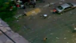 حرب شوارع وبداية للفوضى الخلاقة تدمير شارع عبد العزيز 1 إحذروا