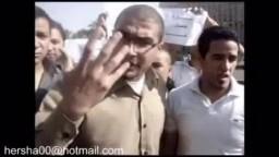 اول مليونية لتأيبيد مبارك فى التحرير