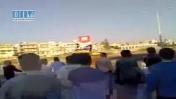 سوريا- حمص - الغوطة - بداية مظاهرة التحدي 10-5 ج1
