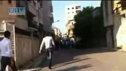 سوريا- حمص - برغم الحصار برغم الدمار نخرج 10-5
