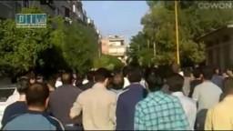 سوريا- حمص - حي القصور - مظاهرة التحدي يوم 10-5