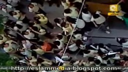 مظاهرة داخل أحد المدارس المصرية