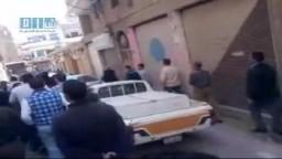 الثورة السورية -- مظاهرات  بعد زفاف أحد الشهداء