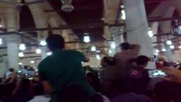 مليونية فلسطين فى جامع عمرو بن العاص بعد صلاة الفجر