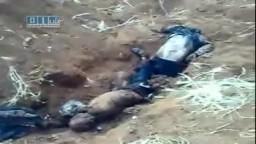 سوريا- درعا -من جرائم بشار الأسد : مقبرة جماعية قرب المقبرة الجنوبية