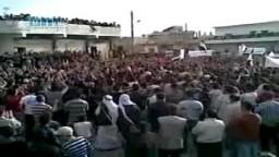 سوريا- حوران - إعتصام أهالي الحراك