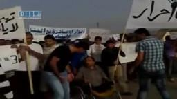 سوريا  القامشلي مظاهرات يوم الإضراب لأبناء هنانو 18 5