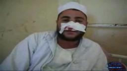 ضرب شيخ مسجد بسبب حديثه عن المخدرات في العجميين