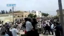 شام - إدلب - خان شيخون - مظاهرات جمعة الحرية 20-5