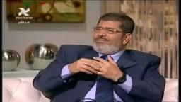 حوار د/ محمد مرسى عن شبهات تدور حول الإخوان بعد الثورة 3