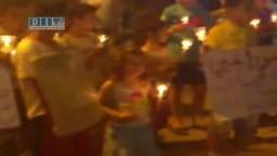سوريا- عامودا - مسيرة شموع مسائية 31-5 ج1