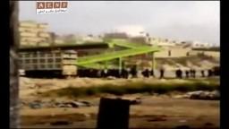 سوريا- شاهد هروب الأمن من أبطال معرة النعمان في جمعة أطفال الحرية