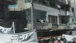 سوريا - دير الزور - من مصابي جمعة أطفال الحرية 3-6