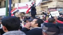 لقطات جديدة  من موقعة الجمل بميدان التحرير