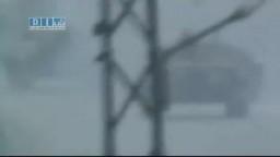 سوريا-- حمص - تلبيسه - دخول الدبابات للمدينة فجرا