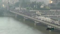 لقطات لم تشاهدها من قبل لمعركة كوبرى قصر النيل .. الثورة المصرية