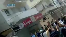 سوريا- جبلة - مظاهرة زفاف الشهيد ياسر استانبولي 6-6