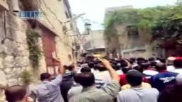 سوريا- جبلة - مظاهرة زفاف الشهيد ياسر استانبولي 6-6 ج2