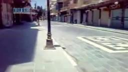 سوريا -- حماه - الإضراب العام العام حدادا على الشهداء