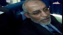 تعليق فضلية المرشد العام على كلمة الأستاذ صبحى صالح