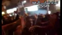 مظاهرات الرقة 7-6-2011
