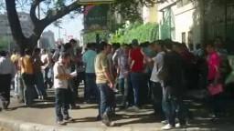 بدأ امتحانات الثانوية العامة بمصر في وجود حراسة من قوات الجيش على جميع اللجان