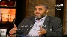 لقاء المهندس خيرت الشاطر نائب المرشد العام مع الإعلامى محمود سعد _4