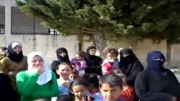 أهالى جسر الشغور بسوريا يفرون ويختبئون فى المدارس بسبب قصف الجيش وهجوم عصابات بشار الأسد