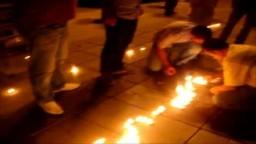 إعتصام الجالية السورية في قبرص لمدة ثلالث أيام