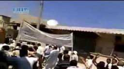 سوريا - حلب - نل رفعت - مظاهرات جمعة العشائر 13-6
