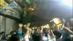 سوريا - دمشق - القدم - مظاهرة مسائية رائعة 16-6