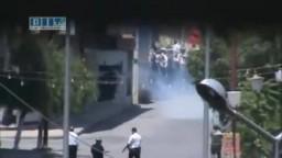 سوريا- جمعة صالح العلي القمع بقنابل الغاز و الرصاص 17-6