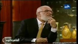 د. عمر عبد الكافي وعمرو أديب .. أول لقاء بعد عودته إلى مصر _2